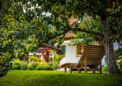 Wohlfühlen im Garten Appartement Jandlbauer