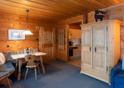 Wohnraum Appartement Jandlbauer Wagrain