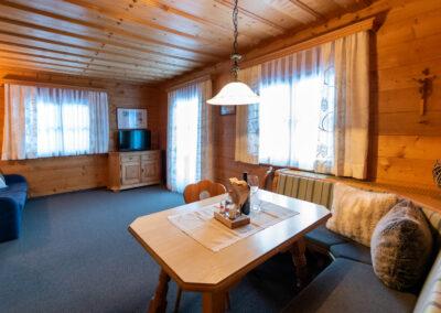 Wohnraum Appartements Jandlbauer Wagrain