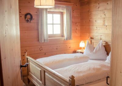 Zimmer mit Doppelbett Jandlhütte