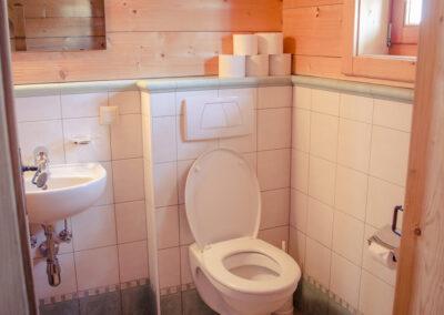 Toilette Jandlhütte