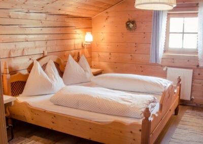 Doppelbett Jandlhütte