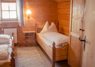 Schlafzimmer Jandlhütte