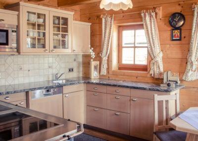 Küche Jandlhütte Flachau