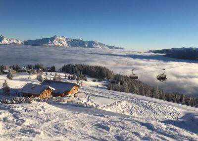 Jandlhütte in Flachau mit Traumpanorama