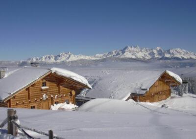 Aussenansicht Jandlhütte Flachau