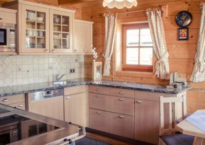 Küche Jandlhütte