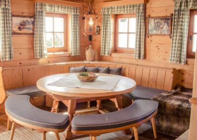 Wohnraum Jandlhütte Flachau
