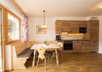 Wohnraum mit Küche Landhaus Jandl